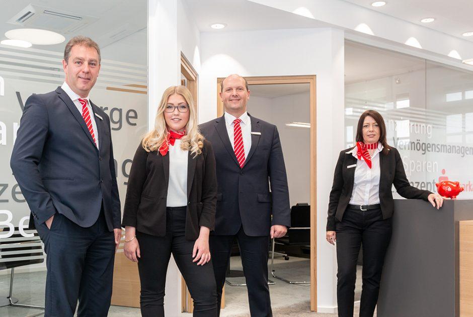 Mehr Raum für Service und Kundenberatung vor Ort – Modernisierung der Sparkassengeschäftsstelle in Brombachtal