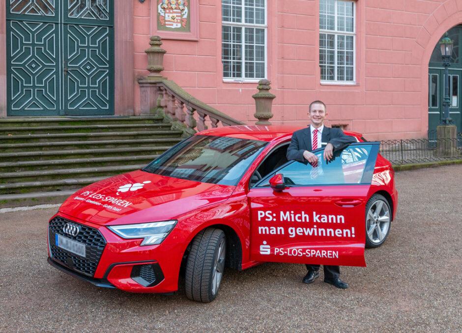 """Sonderauslosung beim PS-Los-Sparen der hessischen Sparkassen: 60 """"Audi A3 Sportback"""" und attraktive Geldpreise zu gewinnen"""