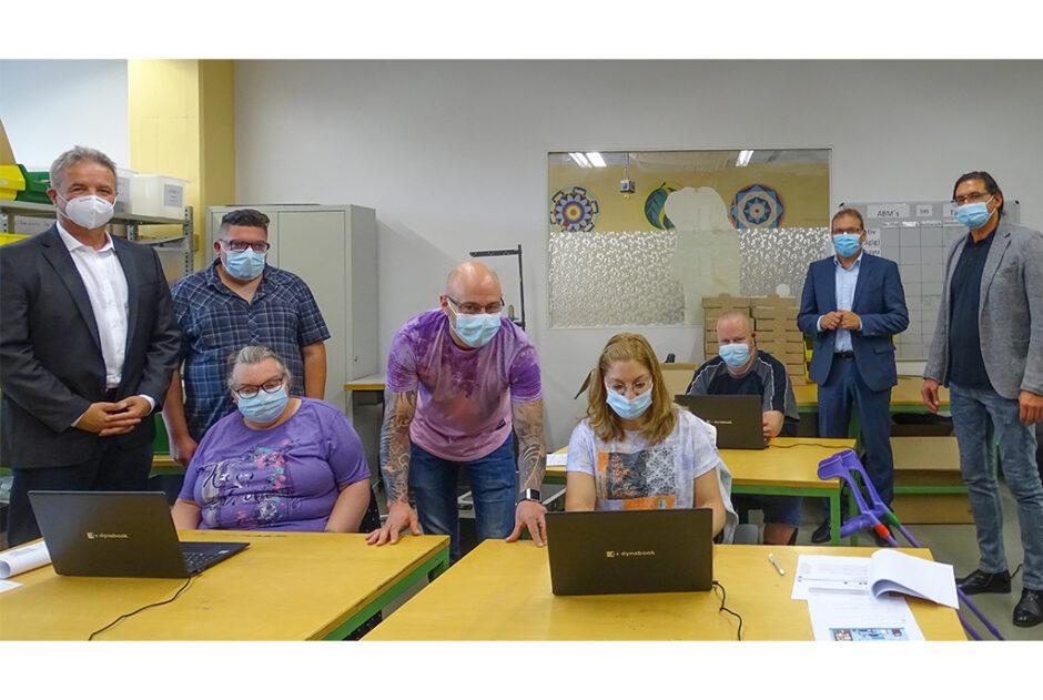 10.500 Euro für die AWO-Integra GmbH, Tagwerk-  Werkstatt für Menschen mit Beeinträchtigungen in Erbach bekommt Zuwendung aus dem PS-Zweckertrag